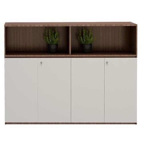 Thiết kế sang trọng, hiện đại của tủ tài liệu gỗ MFC ARC1200-2LK