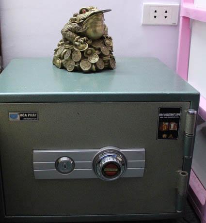 Vật phong thủy đặt két sắt